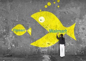 Walmart buys Flipkart in $15 Billion deal
