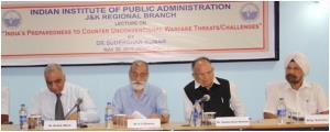 IIPA J&K Regional Branch organises lecture
