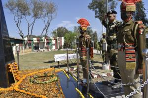 IG BSF pays tributes to martyr O P Tanwar