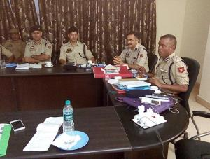 DIG Jammu reviews crime scenario