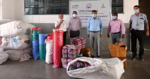 LUPIN foundation provides material support to cov...