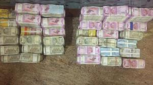 Unaccounted cash Rs 10 cr seized in Telangana, 2 ...