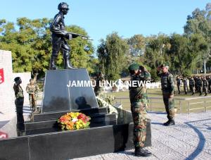 White Knight Corps commemorates 46th Vijay Diwas