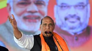 Rajnath Singh attacks Rahul Gandhi, says BJP dous...