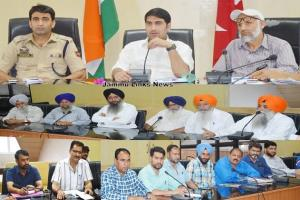 DDC Poonch finalizes arrangements for Mahan Gurma...