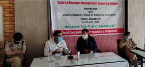 COVID-19 prevention: Srinagar administration hold...