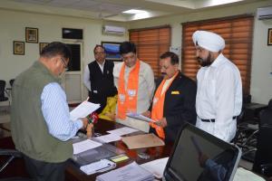 Union minister Jitendra Singh files nomination fr...