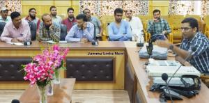 Training Programme for polling staff held in Band...