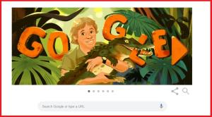 Google remembers Irwin, the crocodile hunter
