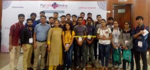 SMVDU fraternity and students attend PyCon-2018 i...