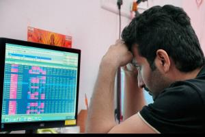 Sensex nosedives over 1,400 pts in early trade; N...