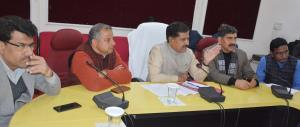 MOS Railways holds interaction with Sarpanchs, Pa...