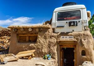 Ladakh institute recycles old car into 'home roof...