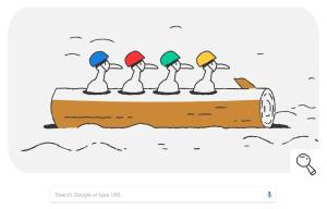 Google Doodle takes a closer look at the Bobsleig...