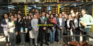 Industrial visit organised for MBA (International...