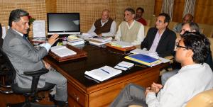 Advisor Ganai reviews functioning of School Educa...