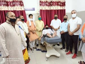 BJYM Samba organises blood donation camp