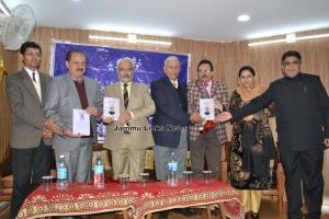 Banam-e-Taqi Abedi released by VC Jammu University