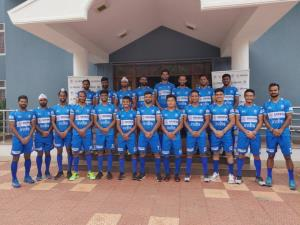 Hockey India announces 20-man squad for Belgium t...