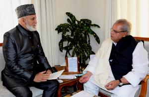 G M Saroori meets Governor