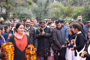 Arjun Munda concludes 2-day tour of Reasi