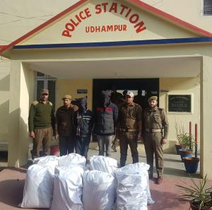 2 inter-state narcotic smugglers held in Udhampur...