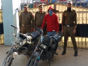 Bike lifter arrested, two stolen motorcycles reco...