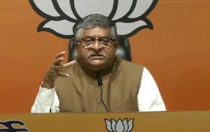 Ravi Shankar Prasad slams Congress, says Batla Ho...