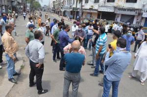 Residency Road traders close shops, protest again...