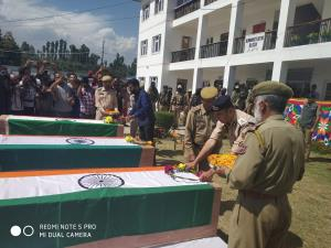 Wreath laying ceremony for martyrs held at DPL Sh...
