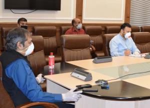 Baseer Khan reviews initiatives regarding Covid-1...