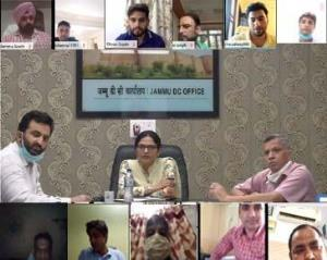 DC Jammu reviews issuance of Domicile Certificate...