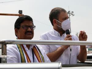 GST, demonetisation destroyed MSME sector: Rahul ...