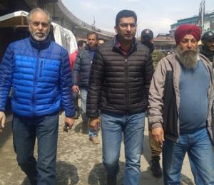Dr Shahid Iqbal inspects major projects in Srinag...