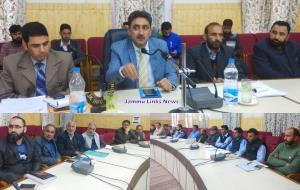 DDC Kupwara reviews progress on Land Records Digi...
