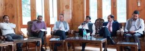 Commissioner Secretary Forests reviews department...