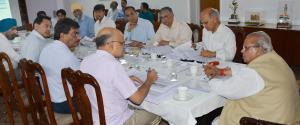 Governor chairs meeting of 74th Board of Director...
