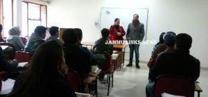 Coaching classes for Ladakhi/Balti students at JU