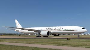 Custom-made B777 plane for VVIP travel arrives in...