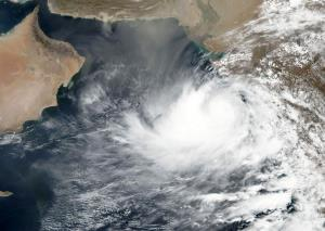 Cyclonic storm Vayu lies centered over Northeast ...