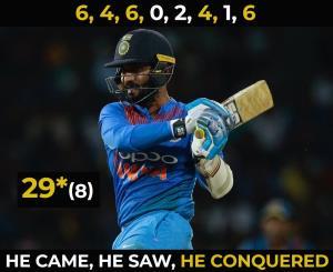 Dinesh Karthik Blitz Helps India Beat Bangladesh ...
