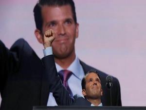 Trump Jr. praises