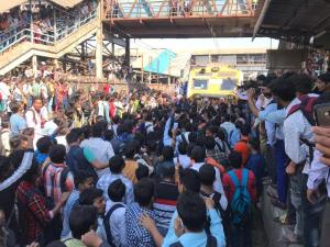 Pulwama attack: Protesters block rail tracks at M...