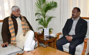Union Minister for Jal Shakti meets Lt Governor