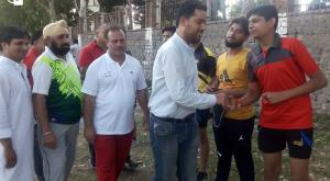 RTO Poonch interacts with TT campers