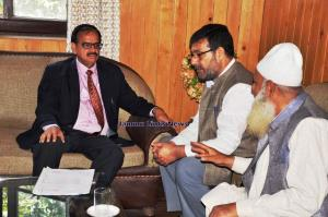 President Chamber of Commerce Kashmir meets PCCF ...
