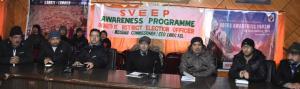 DC Kargil launches Voter Awareness Forum