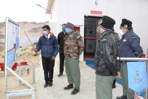 Ladakh gets largest solar project at Leh IAF stat...