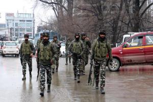 Searches underway in Srinagar