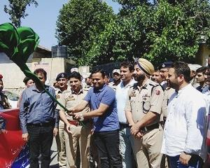 DDC flags off rally against drug abuse and illici...